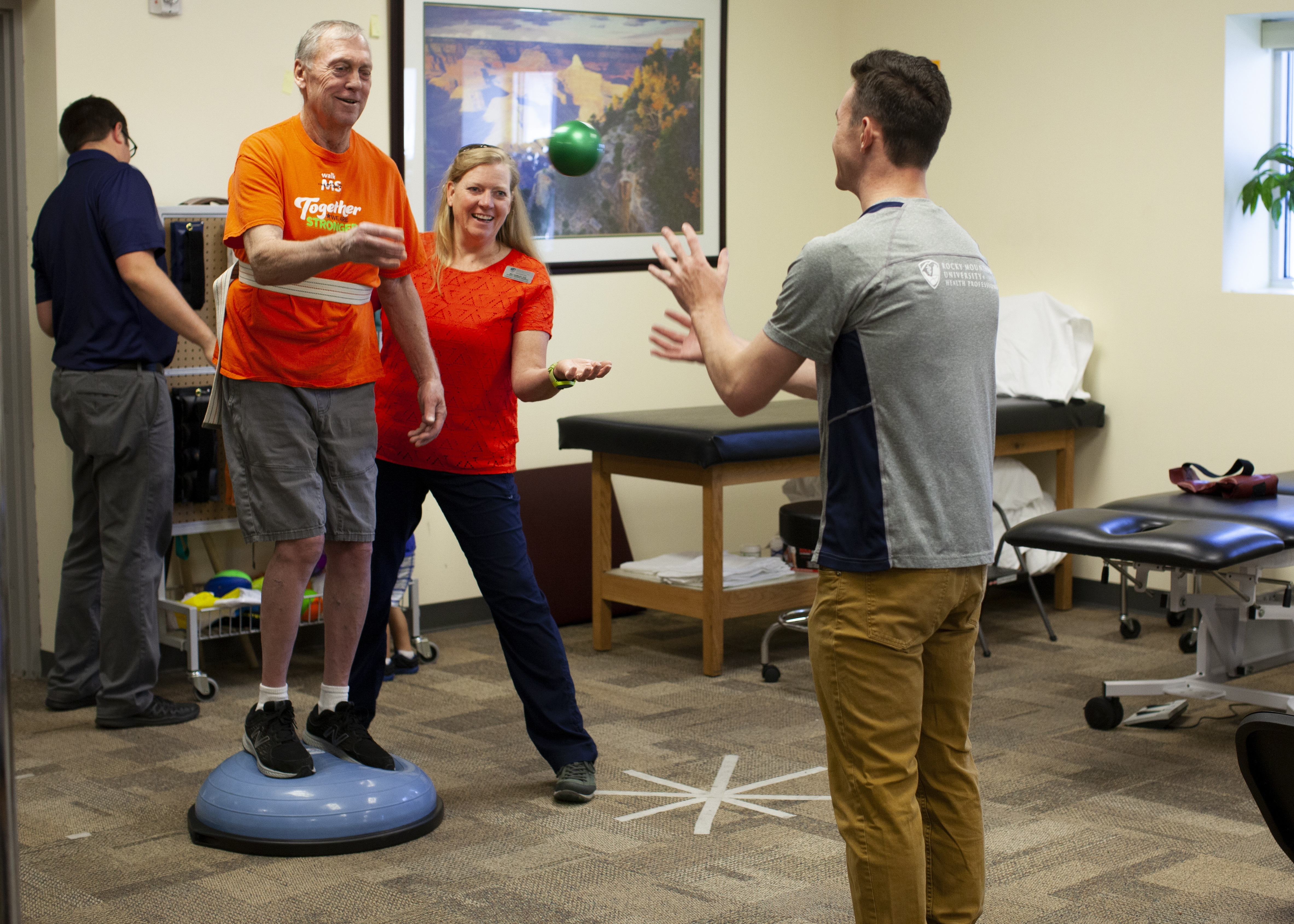 CRC patient developing balance